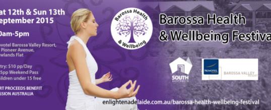 Barossa Health & Wellbeing Festival
